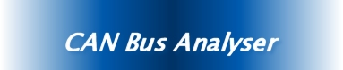 CAN Bus Analyser