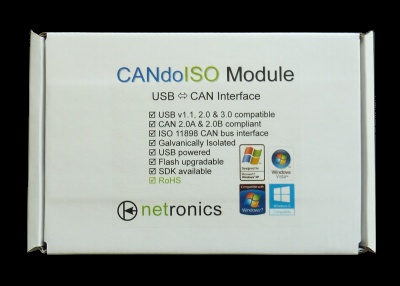 CANdoISO Module Packaging